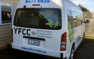 YFCC Community Bus Hire